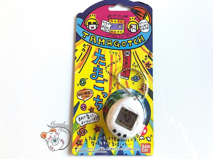 Tamagotchi Original Gen 1 P1 White Bandai Japan 1996
