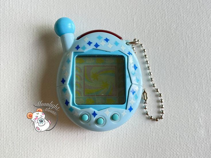 Tamagotchi Connection v4 Chou Jinsei Enjoi Entama Blue Glitter 2006