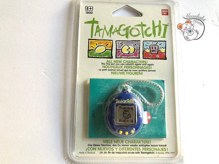 Tamagotchi Original English Gen 2 P2 Navy Blue Europe Vintage 1997
