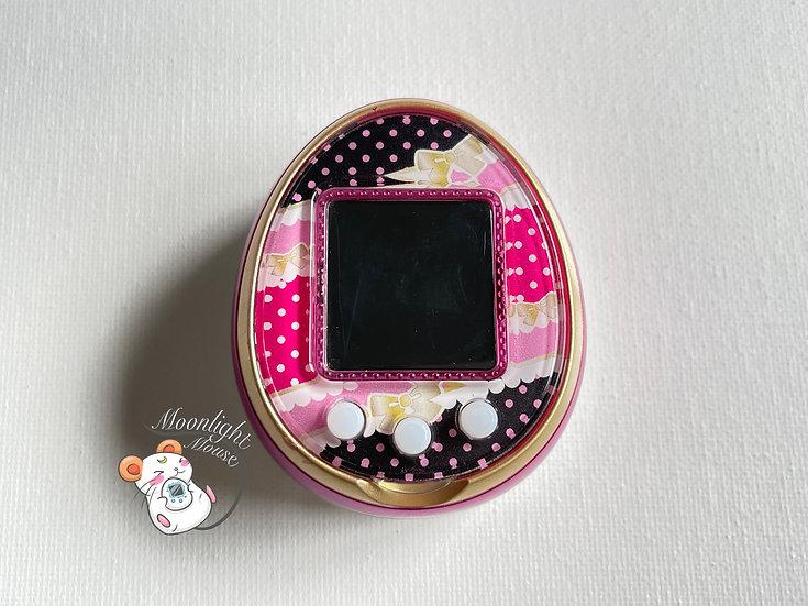 Tamagotchi 4U Pink Bows English Menu Bandai Japan 2014