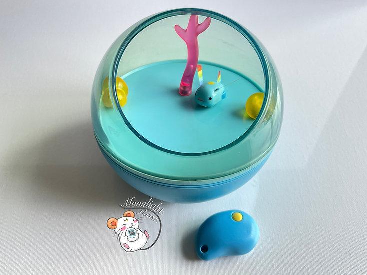 Mutsu Water Looper Robotic Fish Tamagotchi Virtual Giga Pet 2001