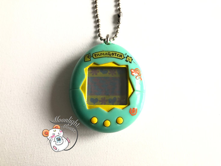Tamagotchi Original Gen 1 P1 Light Green Bandai Japan 1996