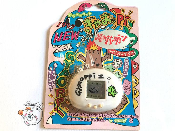 Gyaoppi 2 White Virtual Giga Pet Tamagotchi Japan 1997