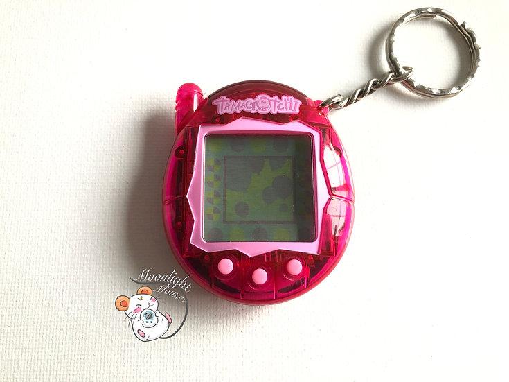 Tamagotchi Connection v3 English Transparent Magenta Pink Shell 2005