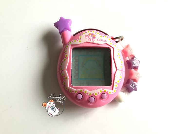 Tamagotchi Jinsei Enjoi Uratama Pink Frill Lace Bandai Japan 2006