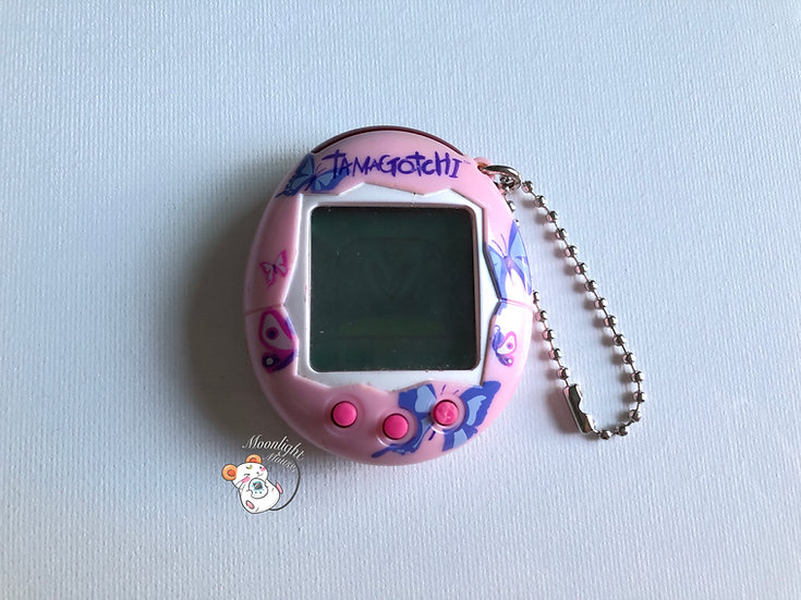 Tamagotchi Connection v2 English Glitter Pink Butterfly Europe 2005