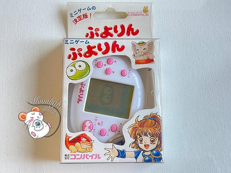 Puyorin Tetris White Tamagotchi Bandai Japan Virtual Pet 1997