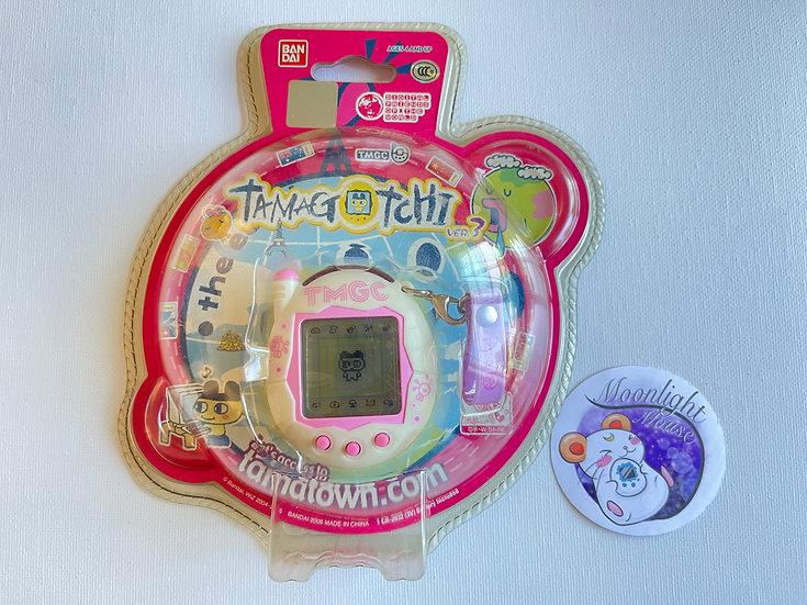 RESERVED: Tamagotchi Connection v3 Cream Pink Sakura English Asia 2005