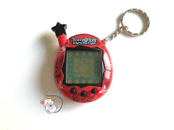 Tamagotchi Connection v4.5 English Red Butterfly Shell 2007