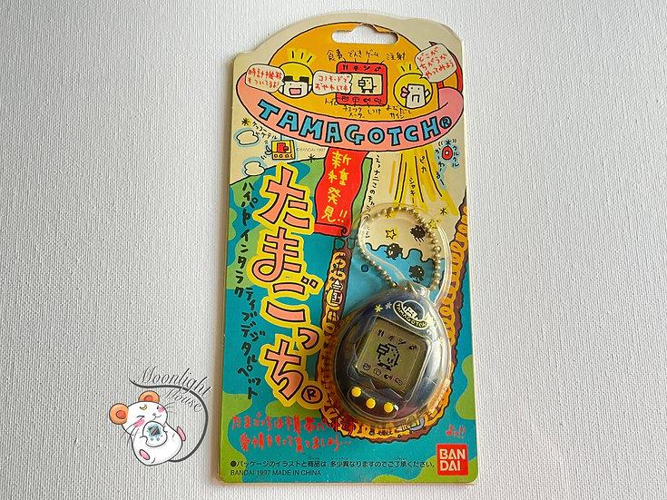 Tamagotchi Original Gen 2 P2 Blue Spaceship Bandai Japan 1997