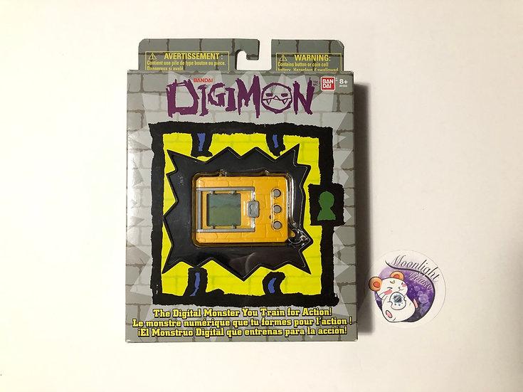 RESERVED Digimon 20th Anniversary Yellow Bandai Virtual Pet 2020