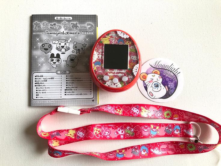 RESERVED Tamagotchi Sanrio Meets Strawberry Red Bandai Japan Virtual Pet 2020