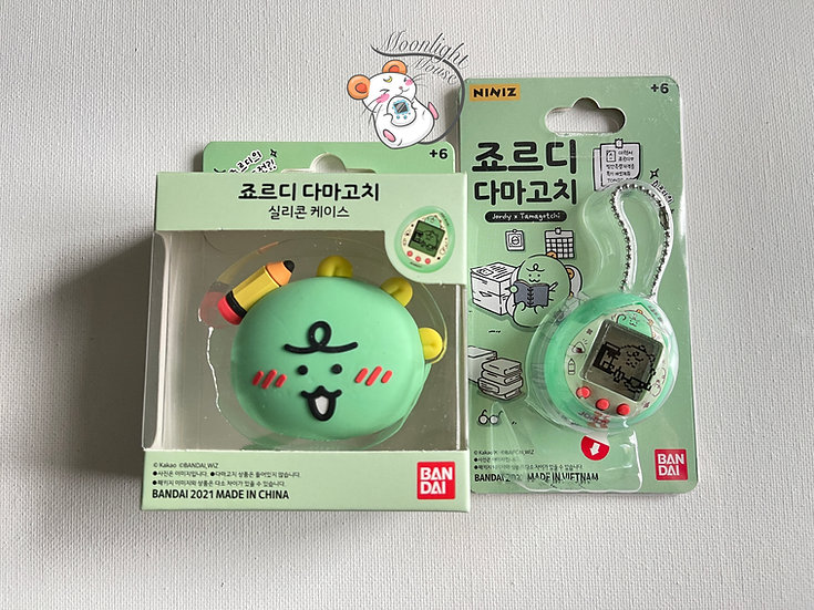 Tamagotchi Jordy Nano Green Niniz Store Bandai Korea Original 2020
