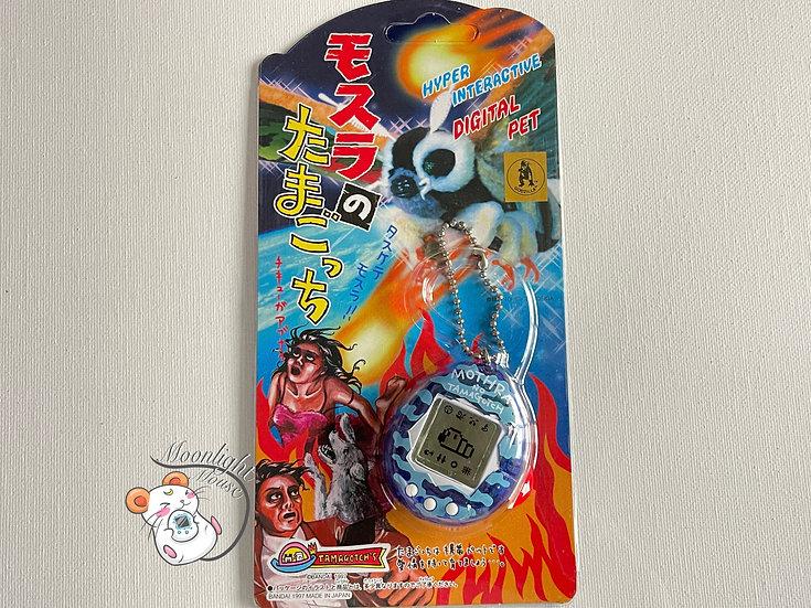 Tamagotchi Original Mothra Transparent Blue Bandai Japan 1997
