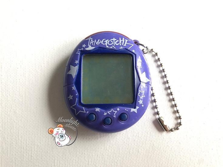 Tamagotchi Connection v2 English Purple Stars Europe Shell 2005