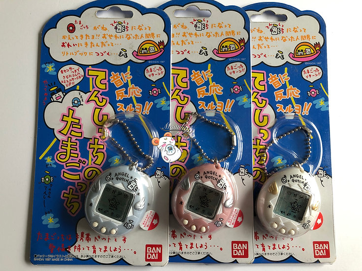 Tamagotchi Original Angel Angelgotchi Bandai Japan 1997