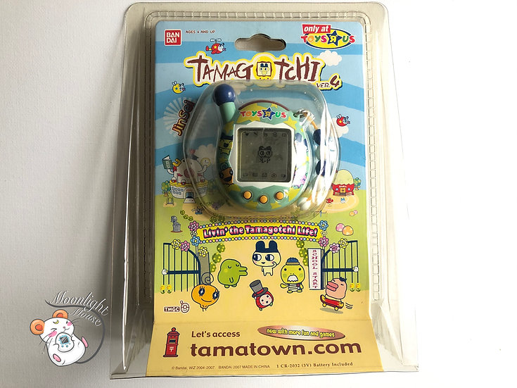Tamagotchi Connection v4 Toys R Us Blue Star English Australia 2007
