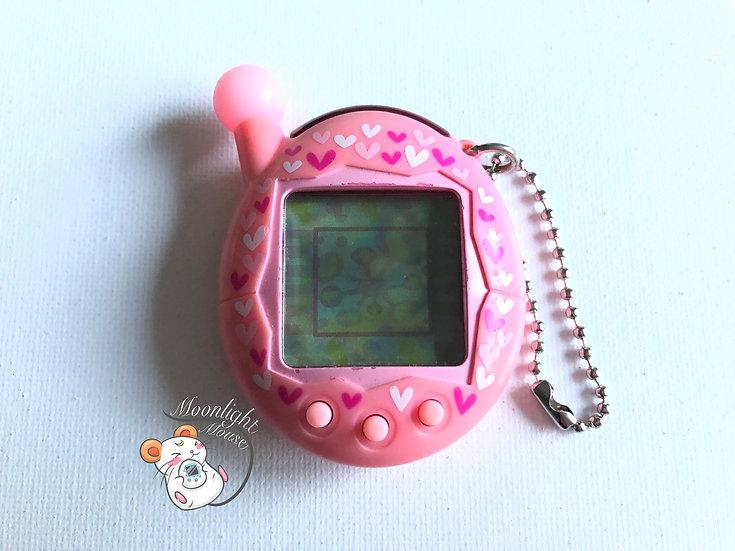 Tamagotchi Connection v4 Chou Jinsei Enjoi Entama Pink Hearts