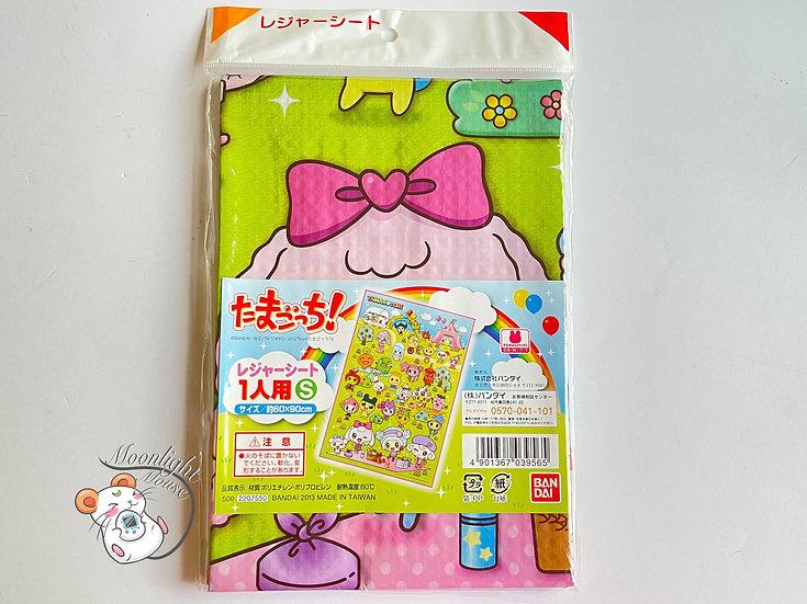 Tamagotchi Characters Picnic Sheet Bandai Japan 2013