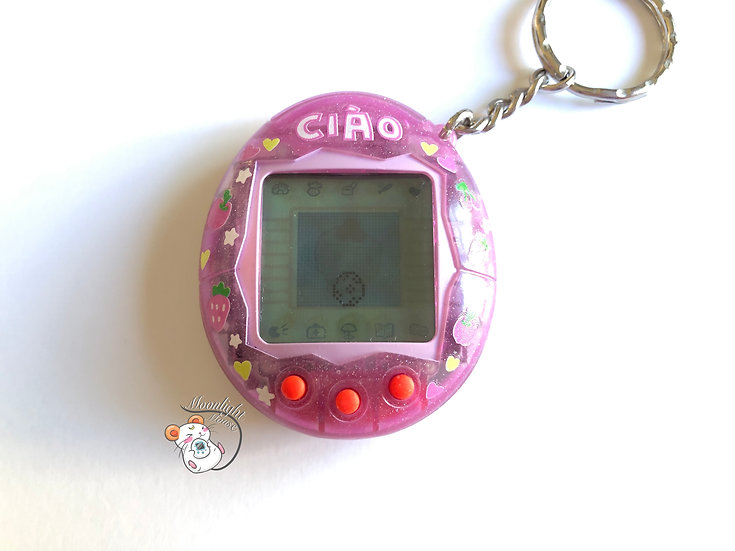 CUSTOM SHELL: Tamagotchi V1 English Ciao Bandai 2004