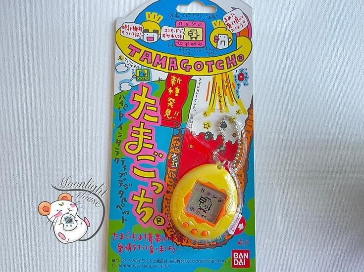 Tamagotchi Original Gen 2 P2 Yellow Bandai Japan 1997