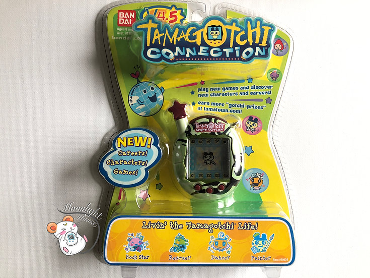 Tamagotchi Connection v4.5 Green Tribal English USA Shell 2007