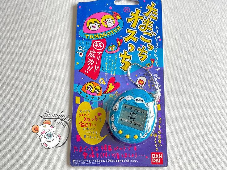 Tamagotchi Original Osutchi Mesutchi Hello Blue Bandai Japan 1997