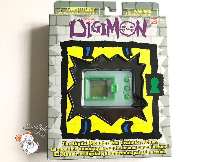 Digimon 20th Anniversary Glow in the Dark Bandai Virtual Pet 2020