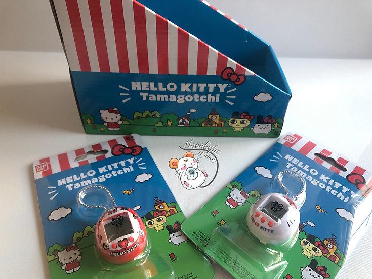 Tamagotchi x Hello Kitty Sanrio Red White Nano Bandai 2020