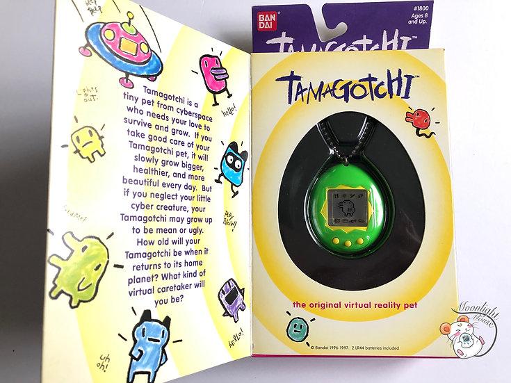 Tamagotchi Original Gen 1 P1 English Green Shell 1997