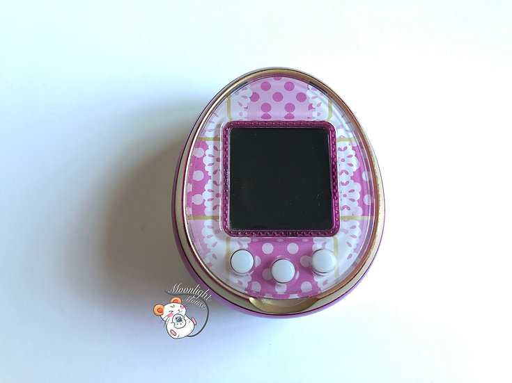 Tamagotchi 4U Pink English Menu Bandai Japan 2014