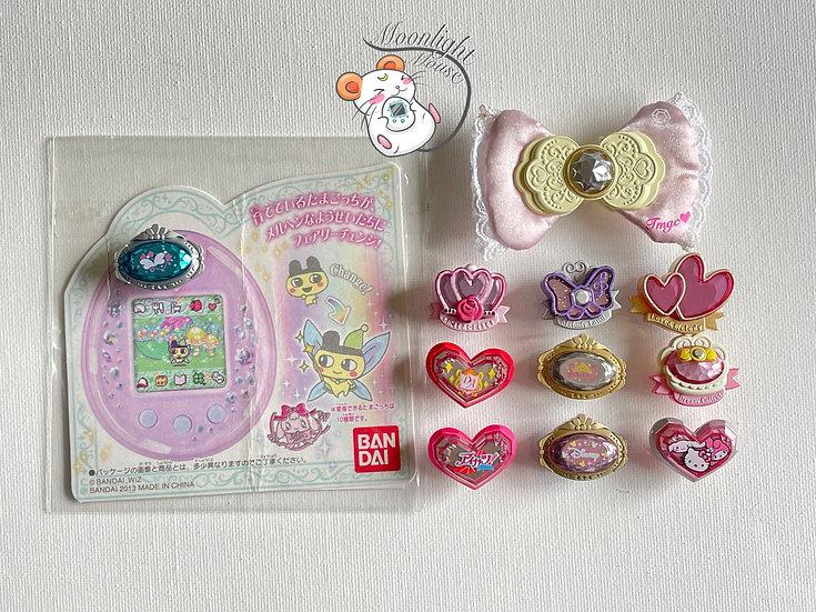 Tamagotchi P's Ribbon Fairy Melody Royal Disney Sanrio Pierce Bandai Japan 2012