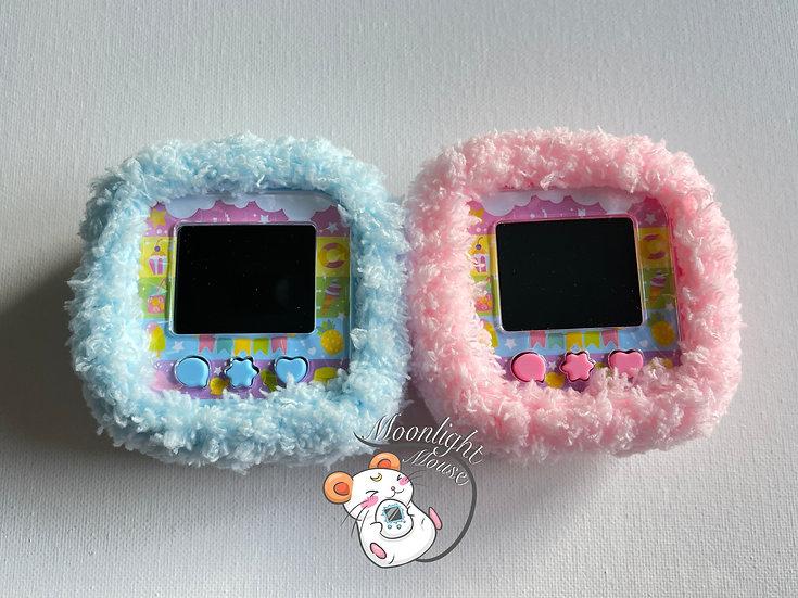 New 2020 Tamagezi Pink Blue Tamagotchi Virtual Pet - CASE ONLY