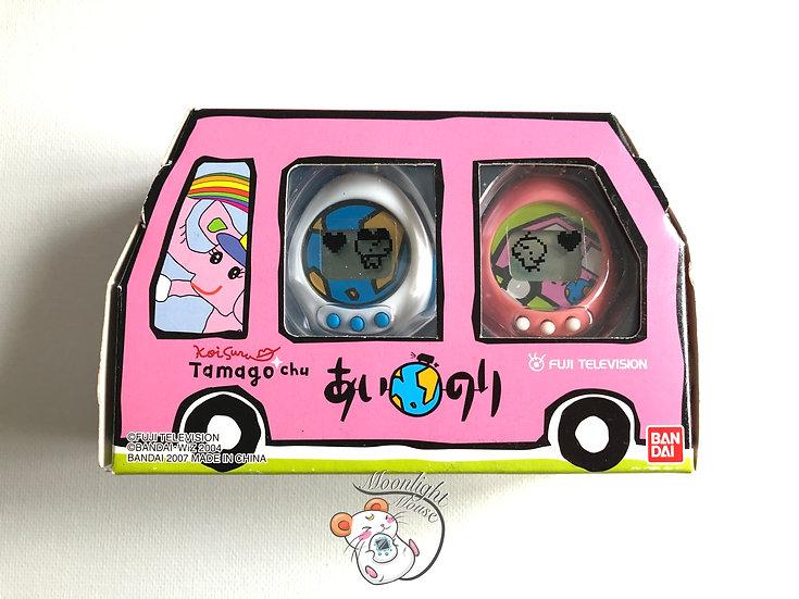Tamagotchi Tamagochu Pink White Abstract Art Truck Bandai Japan 2004