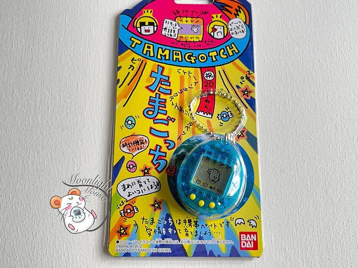 Tamagotchi Original Gen 1 P1 Transparent Blue Bandai Japan 2017