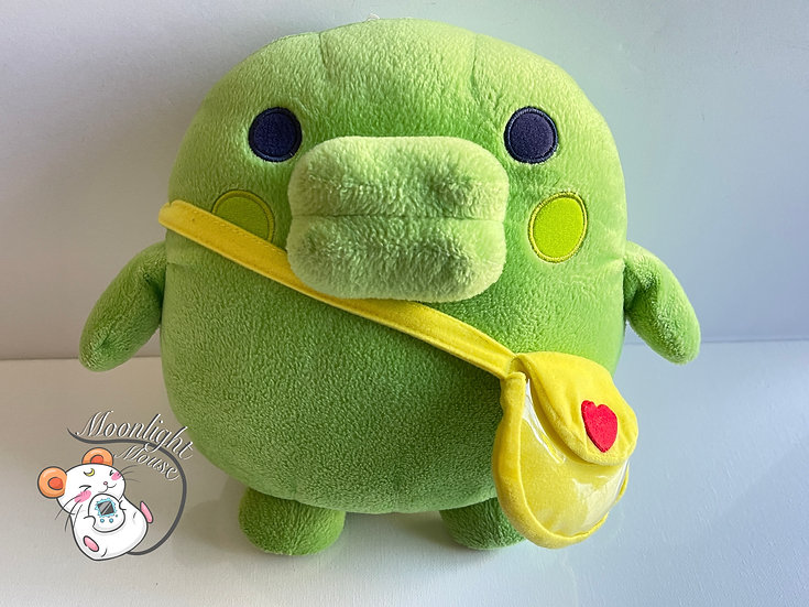 Tamagotchi Kutchipatchi Heart Bag Big Plush Banpresto 2004