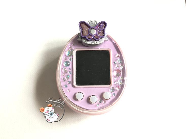 Tamagotchi P's Pink Purple English with Melody Land Pierce Bandai Japan 2012