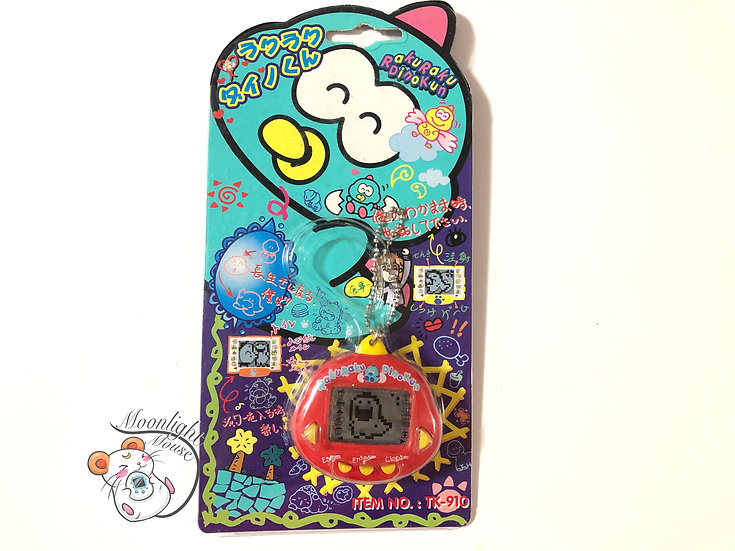 Rakuraku Dinokun Dinkie Dinko Red Virtual Giga Pet Tamagotchi 1997