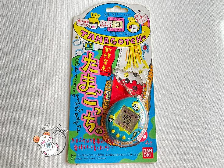 Tamagotchi Original Gen 2 P2 White Characters Bandai Japan 1997