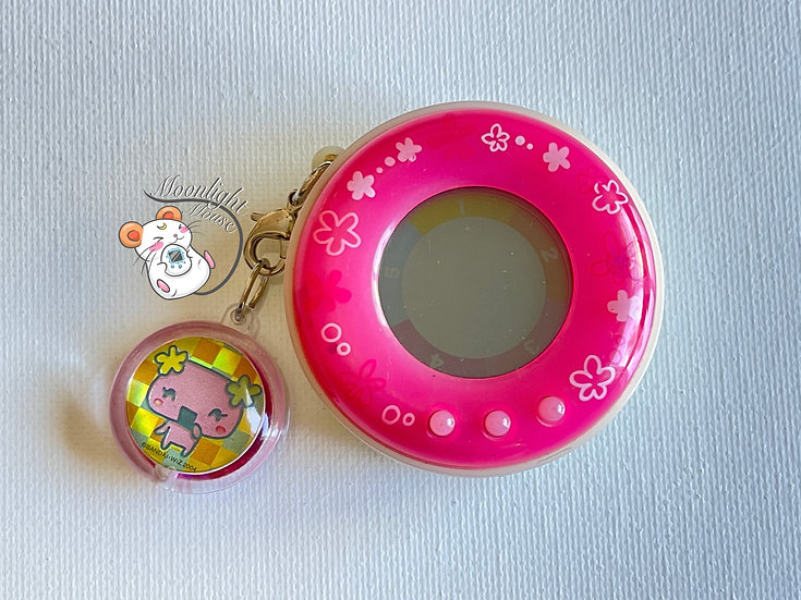 RESERVED: Jinsei Candy Game of Life Pink Flowers V1 Virtual Pet 2005