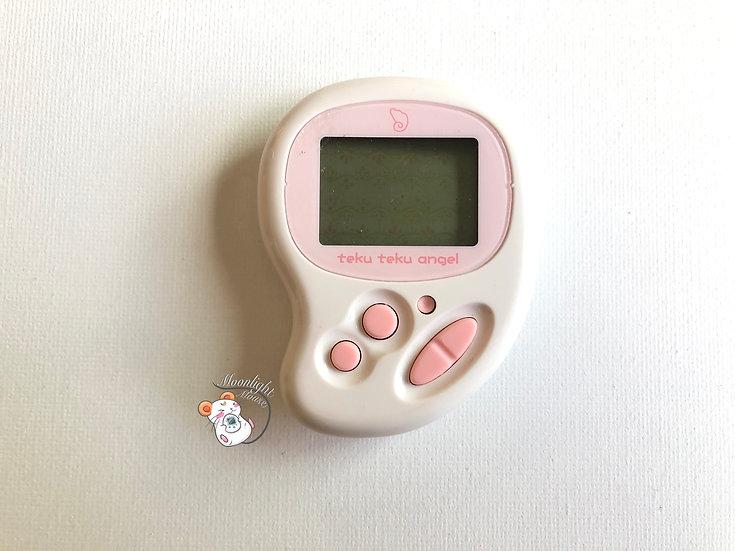 Tamagotchi Hudson Teku Teku Pocket Angel Pink Pedometer Virtual Pet 2004