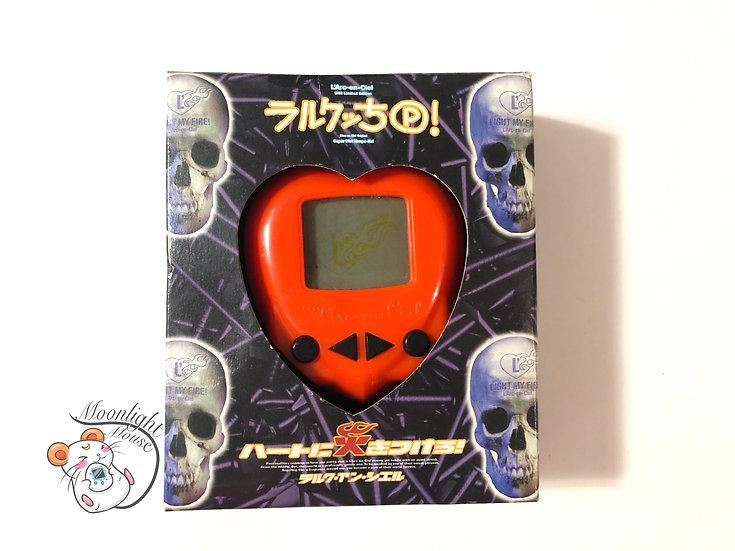 L'Arc-en-Ciel Rock Skull Hippo Pedometer Red Virtual Giga Pet Tamagotchi 1997