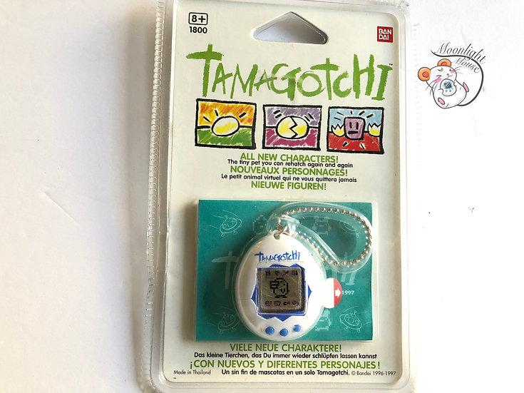 Tamagotchi Original English Gen 2 P2 White Blue Europe Vintage 1997