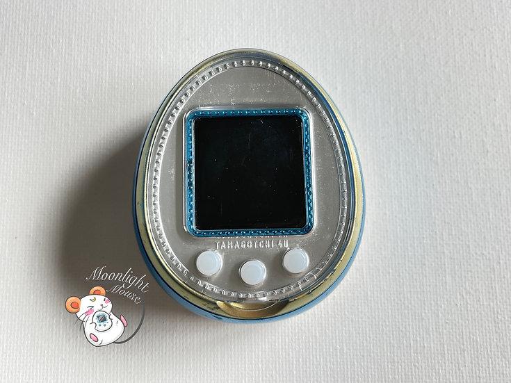 Tamagotchi 4U Blue English Menu Bandai Japan 2014