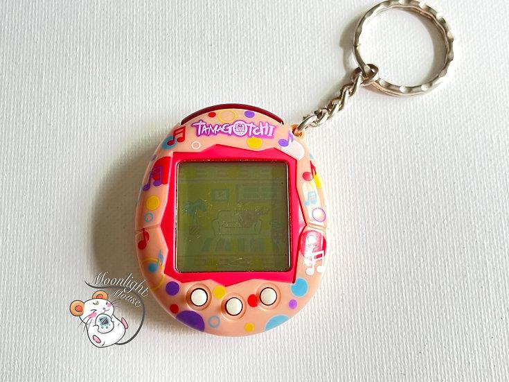 Tamagotchi Connection v6 Music Star English Pink Bubbles 2008