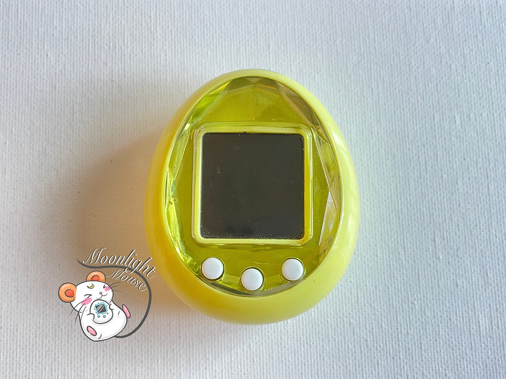 Tamagotchi iD Yellow Bandai Japan 2009