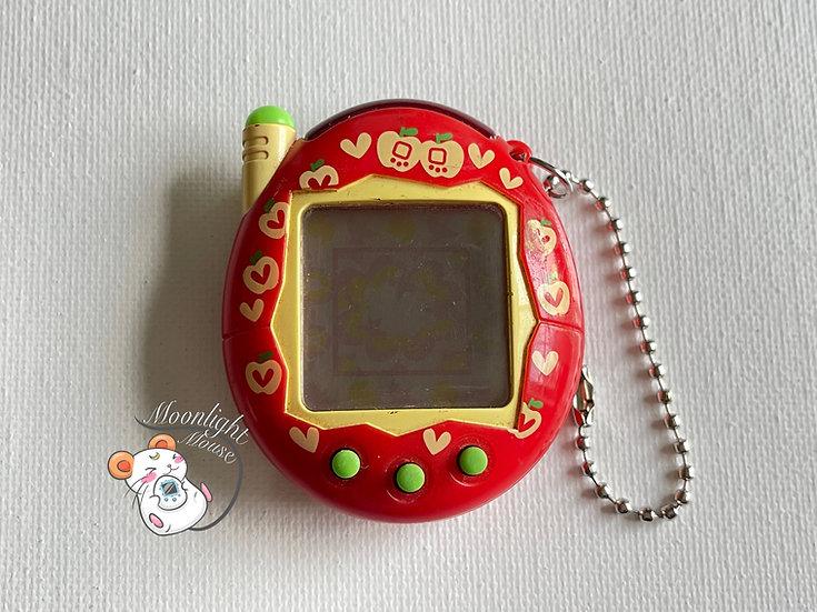 Tamagotchi Connection v3 Keitai Akai Red Apple Bandai Japan 2004