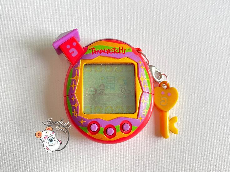 Tamagotchi Connection v5 Familtchi Pink Rainbow English Asia 2008