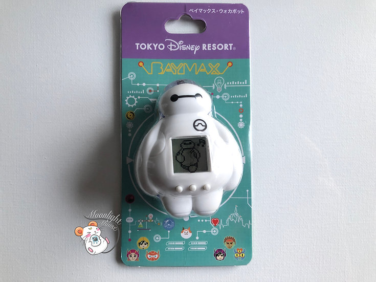 Big Hero 6 Baymax Walker Bot Tokyo Disneyland Bandai Japan Virtual Pet 2020