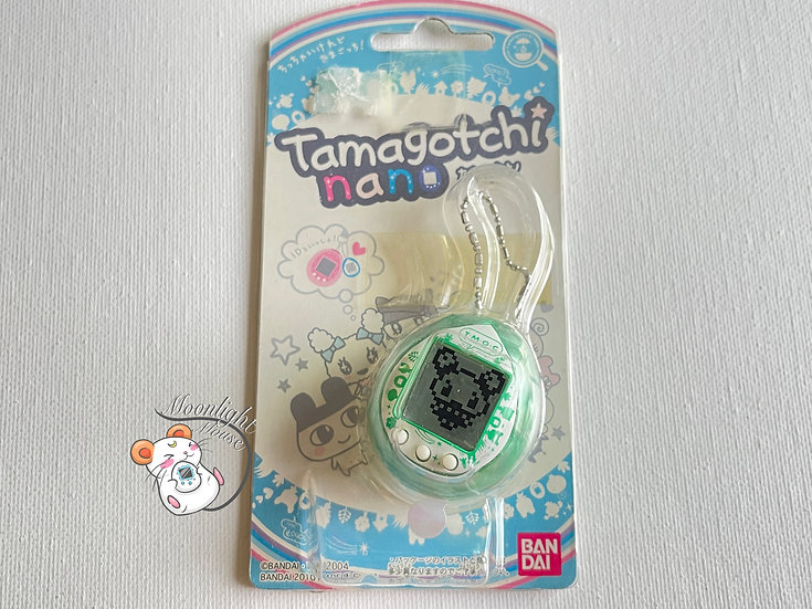 Tamagotchi Nano Wave 1 Green Bandai Japan 2010